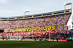 The Vicente Calderon Stadium is seen prior to the La Liga match between Atletico de Madrid and Sevilla FC at the Estadio Vicente Calderon on 19 March 2017 in Madrid, Spain. Photo by Diego Gonzalez Souto / Power Sport Images