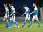 St Johnstone v Partick Thistle…27.01.18…  McDiarmid Park…  SPFL<br />Steven Anderson, Chris Kane, Aaron Comrie and Keith Watson leave the field at full time<br />Picture by Graeme Hart. <br />Copyright Perthshire Picture Agency<br />Tel: 01738 623350  Mobile: 07990 594431