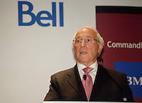 September 2011 File Photo - Montreal (QUEBEC) CANADA  - Ian Greenberg, CEO ASTRAL speak at the Canadian club of Montreal.