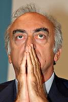 Roma 11 09 2004 Dibattito:Diritti TV:Opportunita' o limiti per il calcio italiano? Antonio Giraudo Amministratore Delegato A.S.Juventus          photo:Serena Cremaschi Insidefoto