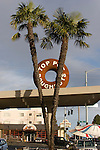 Seattle, Top Pot Doughnuts, Wedgwood neighborhood, commercial district, suburban north Seattle, Washington State, Pacific Northwest, USA,