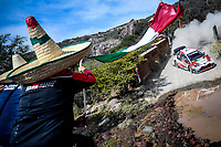 13th March 2020, Guanajuato, Mexico; WRC Rally of Mexico;  Sebastien Ogier FRA  Julien Ingrassia FRA - Toyota Yaris WRC