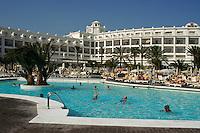 Spanien, Kanarische Inseln, Gran Canaria, Maspalomas, Pool des Riu-Palace-Hotels
