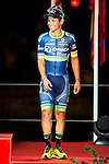 Nairo Quintana, winner of La Vuelta a España 2016 and Esteban Sanchez third position in Madrid. September 11, Spain. 2016. (ALTERPHOTOS/BorjaB.Hojas)