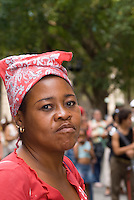 Cuba, Habana, auf der  Plaza de Armas