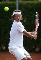 12-8-06,Den Haag, Tennis Nationale Jeugdkampioenschappen, winnaar jongens 12 jaar, Moos Sporken