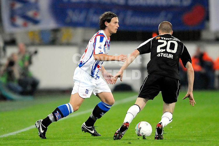 voetbal sc heerenveen - heracles seizoen 2008-2009 12-09-2008  ..