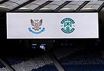 St Johnstone v Hibs…22.05.21  Scottish Cup Final Hampden Park<br />The scoreboard at Hampden<br />Picture by Graeme Hart.<br />Copyright Perthshire Picture Agency<br />Tel: 01738 623350  Mobile: 07990 594431