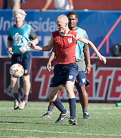 Jared Watts training before the 2009 CONCACAF Under-17 Championship From April 21-May 2 in Tijuana, Mexico