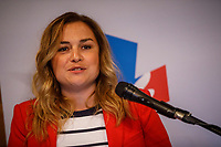ANNONCE DE LA CANDIDATURE LIBERALE DANS LA CIRCONSCRIPTION DE SANGUINET, le 9 aout 2018<br /> <br /> Nicole Menard<br /> Richard Merlini<br /> et la candidate Marcelina Jugureanu <br /> <br /> PHOTO : Agence Quebec Presse