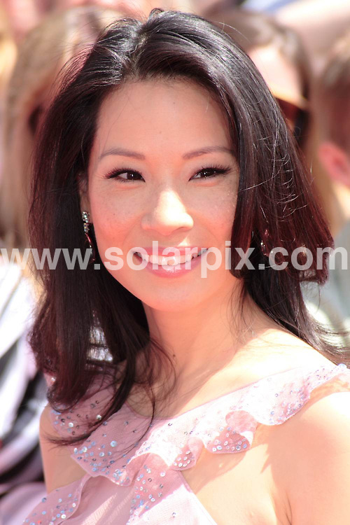 """**ALL ROUND PICTURES FROM SOLARPIX.COM**.**SYNDICATION RIGHTS FOR UK, SPAIN, PORTUGAL, AUSTRALIA, S.AFRICA & DUBAI (U.A.E) ONLY**.arrivals for the Los Angeles premiere of """"Kung Fu Panda"""" at the Grauman's Chinese Theatre, Hollywood, CA, USA. 1st June 2008..This pic: Lucy Liu..JOB REF: 6542 PHZ/David Gabber    .DATE: 01_06_2008.**MUST CREDIT SOLARPIX.COM OR DOUBLE FEE WILL BE CHARGED* *UNDER NO CIRCUMSTANCES IS THIS IMAGE TO BE REPRODUCED FOR ANY ONLINE EDITION WITHOUT PRIOR PERMISSION*"""