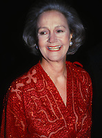 Katherine Graham 1990s<br /> Photo by Adam Scull/PHOTOlink