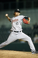 Chia-Jen Lo - Peoria Saguaros, 2009 Arizona Fall League.Photo by:  Bill Mitchell/Four Seam Images..