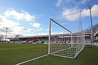 General view of the ground ahead of kick-off - Stevenage vs Southend United - Sky Bet League Two Football at the Lamex Stadium, Broadhall Way, Stevenage - 21/02/15 - MANDATORY CREDIT: Gavin Ellis/TGSPHOTO - Self billing applies where appropriate - contact@tgsphoto.co.uk - NO UNPAID USE