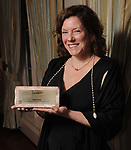 "Winner Angela Bishop at Preservation Houston's ""The Cornerstone Dinner""  presenting the 2018 Good Brick Awards at the River Oaks Country Club Friday March 02,2018. (Dave Rossman Photo)"