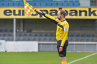 assistant referee Jeremy Schlenker pictured during a female soccer game between Eendracht Aalst and Standard Femina de Liege on the 11 th matchday of the 2020 - 2021 season of Belgian Scooore Womens Super League , Saturday 23 of January 2021  in Aalst , Belgium . PHOTO SPORTPIX.BE | SPP | STIJN AUDOOREN