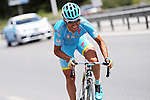 The breakaway group featuring Valerio Agnoli (ITA) Astana Pro Team during Stage 7 of the 2015 Presidential Tour of Turkey running 166km from Selcuk to Izmir. 2nd May 2015.<br /> Photo: Tour of Turkey/Mario Stiehl/www.newsfile.ie