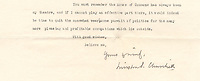"""BNPS.co.uk (01202 558833)<br /> Pic: Bonhams/BNPS<br /> <br /> A fascinating letter in which Winston Churchill describes the House of Commons as 'his theatre' has sold for £6,100.<br /> <br /> Churchill wrote the prescient letter in 1929, just as he entered his so-called 'Wilderness Years', the period of his life where he stepped away from politics.<br /> <br /> He told friend Sir Frederick 'Fritz' Ponsonby: """"...the House of Commons has always been my theatre, and if I cannot play an effective part there, it would indeed be time to quit the somewhat wearisome pursuit of politics."""""""