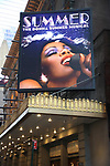 "USA: ""Summer: The Donna Summer Musical"" - Marquee"