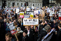 """04.02.2017 - """"Protest: Stop Trump's Muslim Ban - Stop May Supporting It"""""""