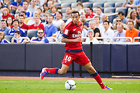 Nene? (10) of Paris Saint-Germain. Chelsea FC and Paris Saint-Germain played to a 1-1 tie during a 2012 Herbalife World Football Challenge match at Yankee Stadium in New York, NY, on July 22, 2012.