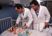 Ospedale San Camillo, Roma. Reparto di Chirurgia pediatrica..San Camillo Hospital, Rome. Department of Pediatric Surgery....