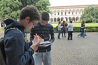 - State University of Milan, open doors day for educational guidance....- Università Statale di Milano, giornata porte aperte per l'orientamento didattico....