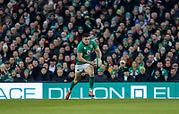Saturday 2nd February 2019 | Ireland vs England<br /> <br /> Jacob Stockdale during the opening Guinness 6 Nations clash between Ireland and England at the Aviva Stadium, Lansdowne Road, Dublin, Ireland.  Photo by John Dickson / DICKSONDIGITAL