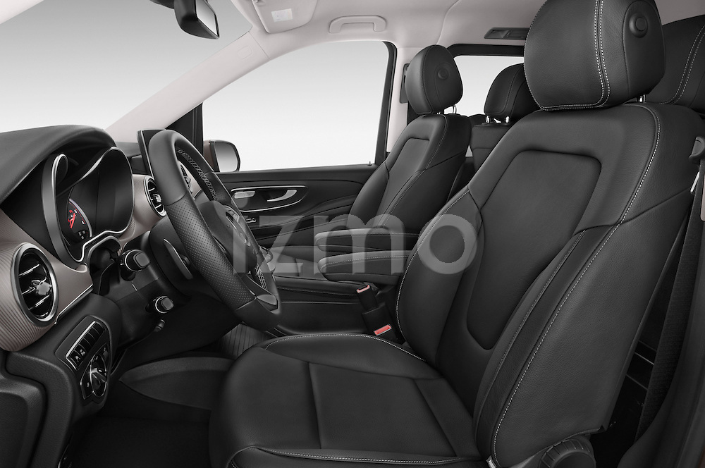 Front seat view of a 2015 Mercedes Benz V-CLASS AVANTGARDE 5 Door Minivan 2WD Front Seat car photos