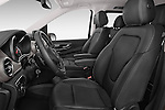 Front seat view of a 2015 Mercedes Benz V-CLASS AVANTGARDE 5 Door Minivan 2WD Front Seat car photos