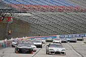 #20: Harrison Burton, Joe Gibbs Racing, Toyota Supra Morton Buildings/DEX Imaging, #8: Jeb Burton, JR Motorsports, Chevrolet Camaro State Water Heaters
