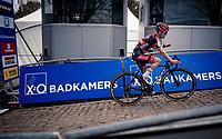 Eli Iserbyt (BEL/Pauwels Sauzen-Bingoal) wins the race up the brutal Koppenberg.<br /> <br /> Koppenbergcross 2020 (BEL)<br /> men's race<br /> <br /> ©kramon