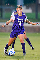 TCU midfielder Lauren Sajewich (6) during NCAA soccer game, Friday, September 12, 2014 in San Marcos, Tex. TCU defeated Texas State 1-0. (Mo Khursheed/TFV Media via AP Images)