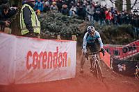 defending World Champion Wout Van Aert (BEL/Crelan-Charles)<br /> <br /> Elite Men's Race<br /> 2018 CX World Championships<br /> Valkenburg - The Netherlands