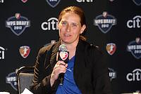 Boston Breakers Head Coach Lisa Cole... The WPS draft 2012 was held at the Kansas City Conference Center, Kansas City, Missouri.