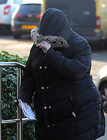 Pictured: Bethan Doci (also known as Bethan Morgan) arrives at Swansea Crown Court. Thursday 01 December 2016<br /> Re: A serial fraudster who admitted tricking people out of more than £300,000 by claiming she had cancer is due to be sentenced by Swansea Crown Court today.<br /> Bethan Doci (also known as Bethan Morgan) pleaded guilty to a string of deceits stretching from 2008 to 2013 when she appeared at Swansea Crown Court.<br /> Prosecutor Catherine Richards had alleged the 38-year old classical violinist had led people she met into believing she was suffering from the disease and acquiring money off them for treatment.