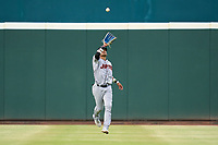 Jupiter Hammerheads outfielder Victor Mesa Jr. (10) catches a fly ball during a game against the Bradenton Marauders on June 23, 2021 at LECOM Park in Bradenton, Florida.  (Mike Janes/Four Seam Images)