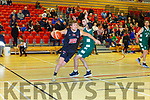 Toby Christensen Scotts LAkers drives to the Limerick Celtics basket during their league clash in Killarney on Saturday night