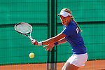 Italian tennis player Federica Bilardo during Tennis Junior Fed Cup in Madrid, Spain. September 30, 2015. (ALTERPHOTOS/Victor Blanco)