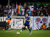 SAN JOSE, CA - SEPTEMBER 4: Nathan Cardoso during a game between Colorado Rapids and San Jose Earthquakes at PayPal Park on September 4, 2021 in San Jose, California.