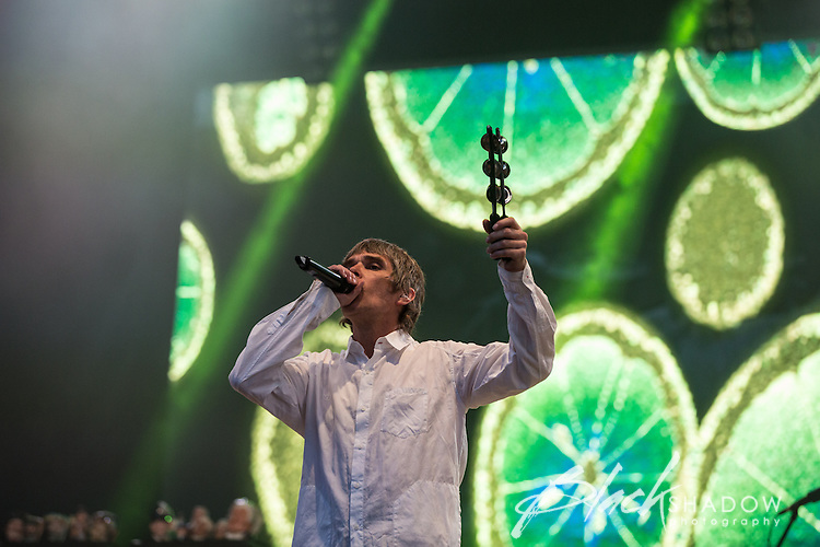 Stone Roses performing at Future Music Festival, Flemington Racecourse, Melbourne, 10 March 2013