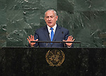 Opening of GA 72 2017 AM<br /> <br /> His Excellency Benjamin Netanyahu, Prime Minister of the State of Israel