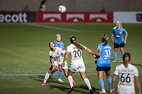 HERRIMAN, UT - JULY 12: Arielle Ship #17 of Utah Royals FC plays for the ball during a game between Utah Royals FC and Chicago Red Stars at Zions Bank Stadium on July 12, 2020 in Herriman, Utah.