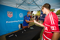 NASHVILLE, TN - SEPTEMBER 5: VW Legend Appearance at US Soccer FanHQ featuring DeMarcus Beasley at Nissan Stadium on September 5, 2021 in Nashville, Tennessee.