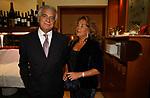 """DENIS E SIMONETTA VERDINI<br /> 75° COMPLEANNO DI LINO JANNUZZI - """"DA FORTUNATO AL PANTHEON"""" ROMA 2003"""