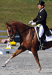 17 October 2008:  Beijing Olympic competitor Phillip Dutton and Bailey Wick sit in 9th-place after the dressage section of the Fair Hill International CCI*** Championship at Fair Hill Equestrian Center in Fair Hill, Maryland.  Dressage is the first stage of the three-day event.