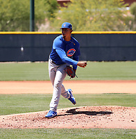 Willy Cabrera - Chicago Cubs 2019 extended spring training (Bill Mitchell)
