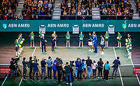 Rotterdam, The Netherlands, 16 Februari 2020, ABNAMRO World Tennis Tournament, Ahoy,<br /> Mens Single Final: Prizegiving<br /> Photo: www.tennisimages.com