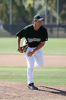 Keith Weiser - Colorado Rockies - 2009 spring training.Photo by:  Bill Mitchell/Four Seam Images