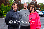 Enjoying a stroll in Listowel town park on Sunday, l to r: Dermot and Evan O'Neill and Audrey Sheehy